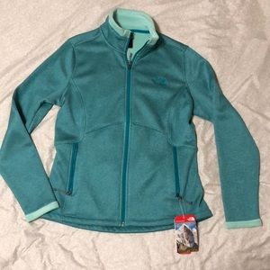Women's The North Face zip up jacket
